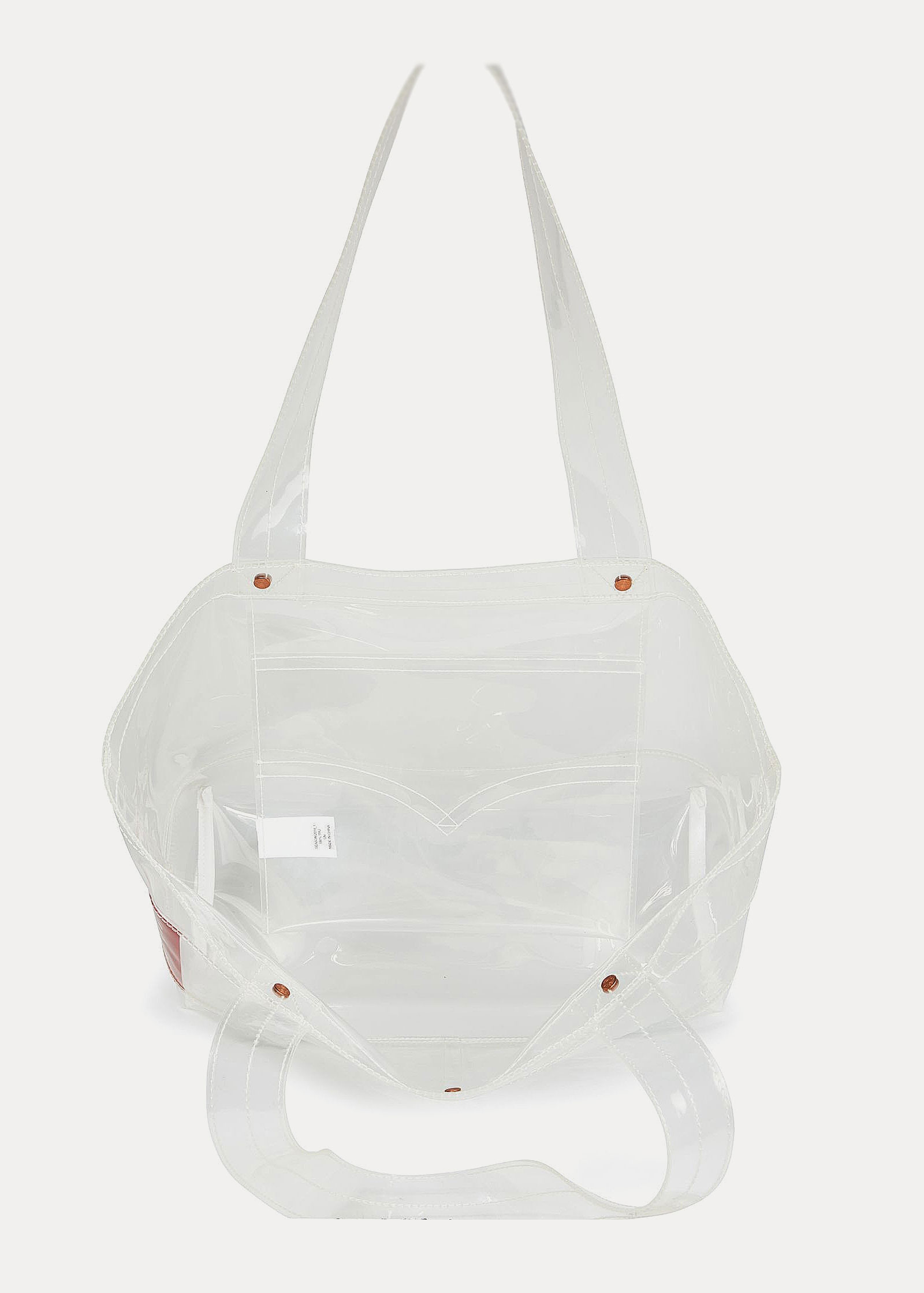 Levi's® Icon Carryall Clear Bag - White - elements