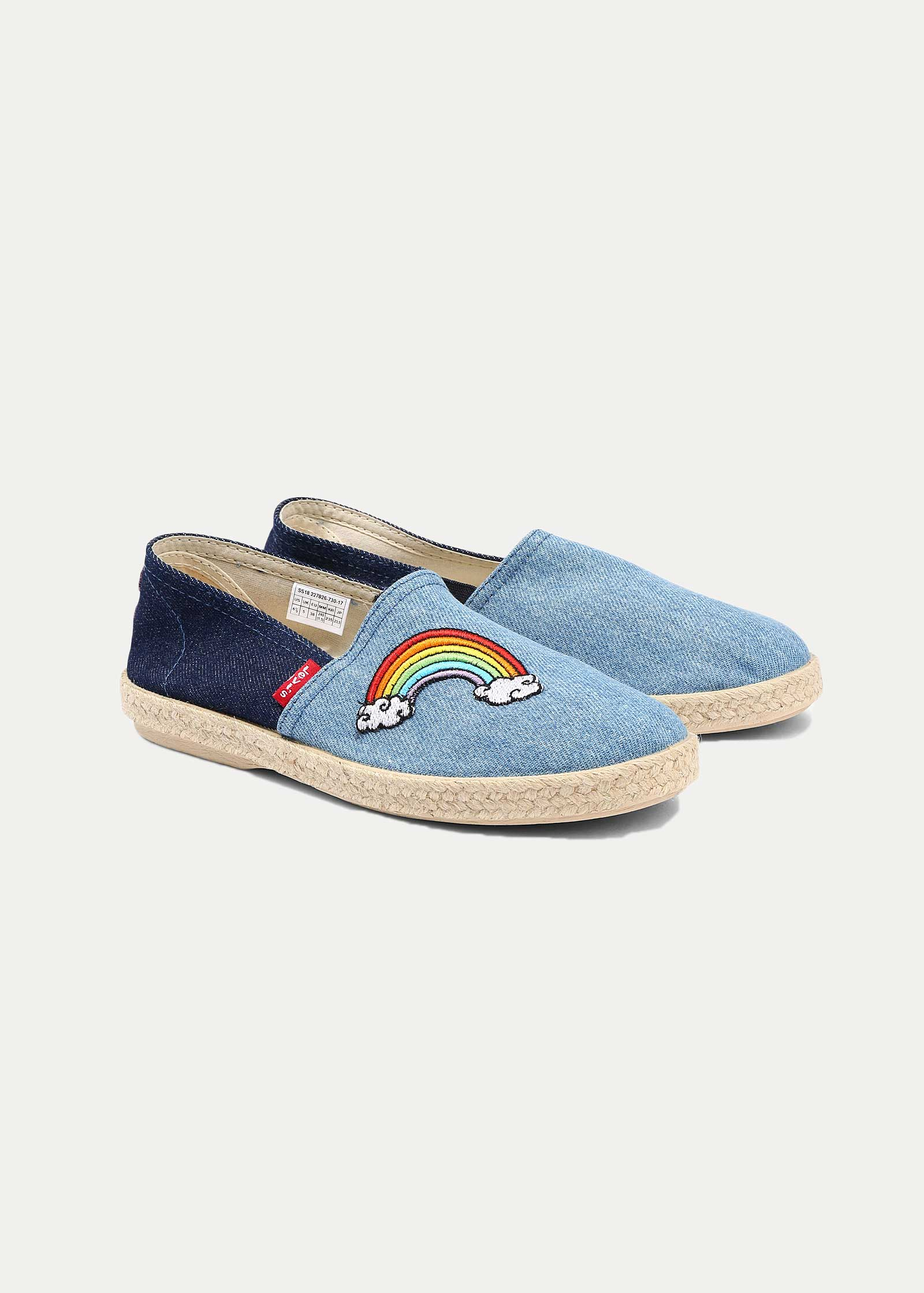 Levi's® Rosadale Slip On Espadrille - Blue - elements