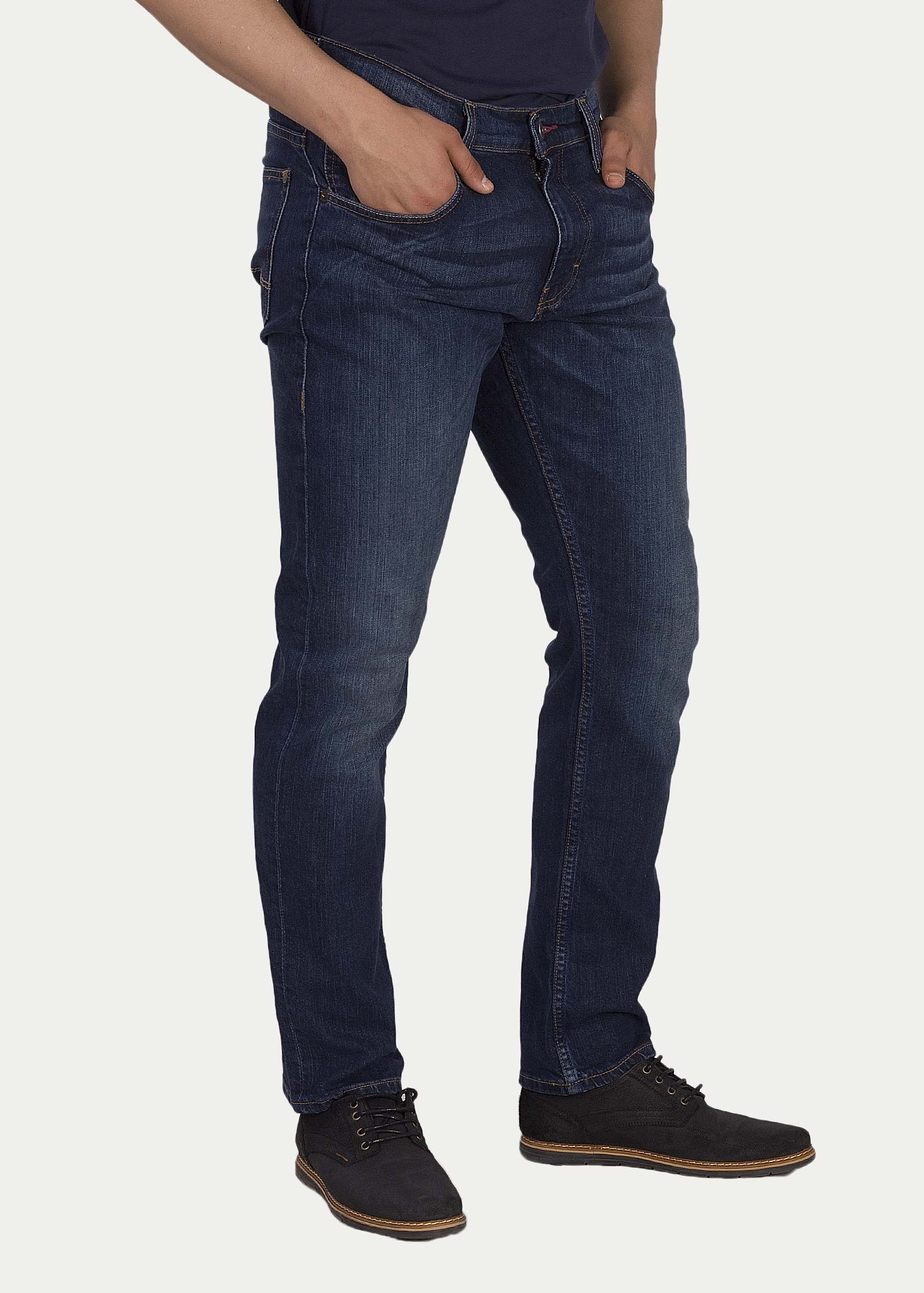 Men s Jeans Mustang® Chicago Tapered - Dark Scratched Used (3156 ... 04f068432b