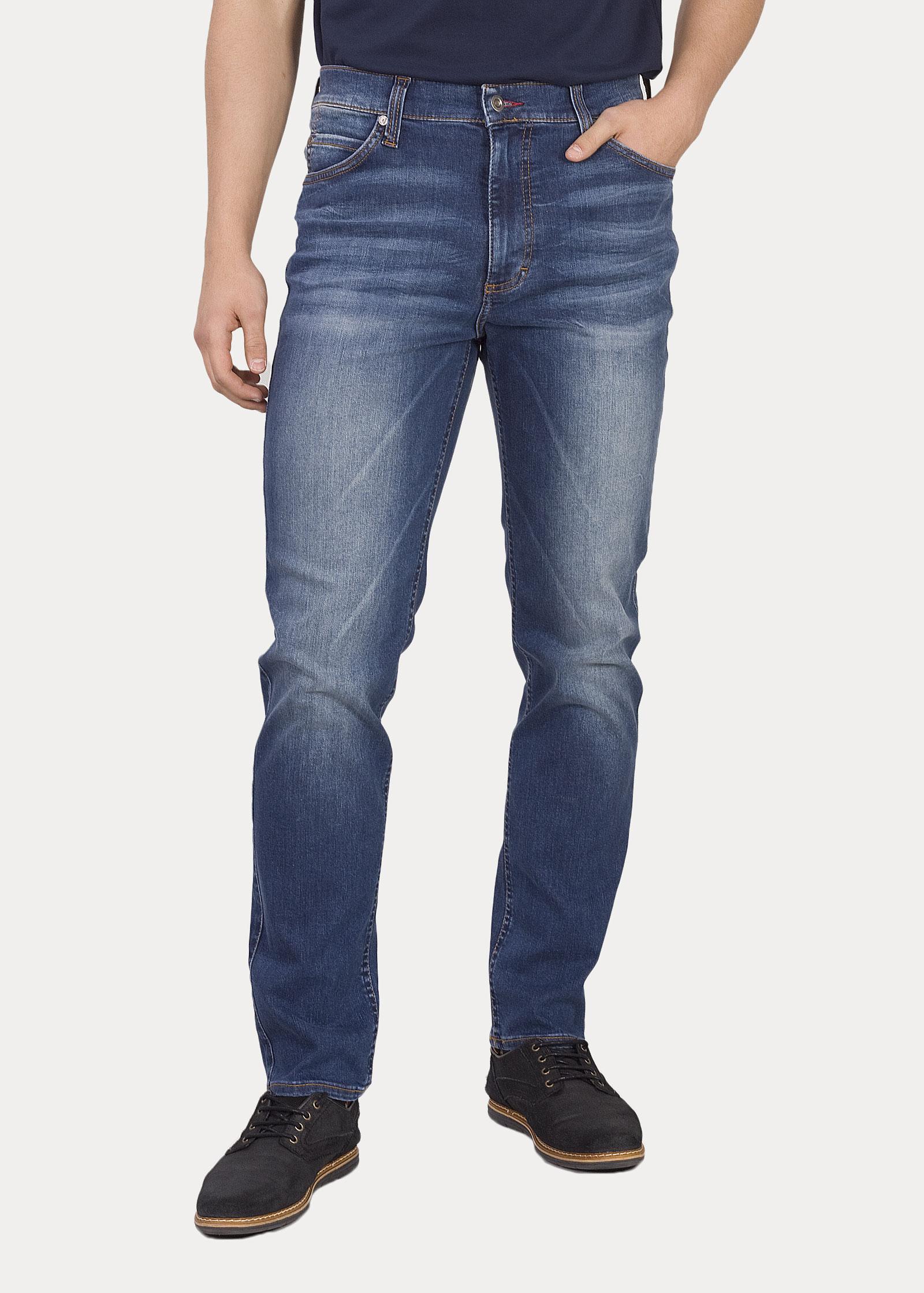Herren Jeans Mustang Tramper Tapered Denim Blue