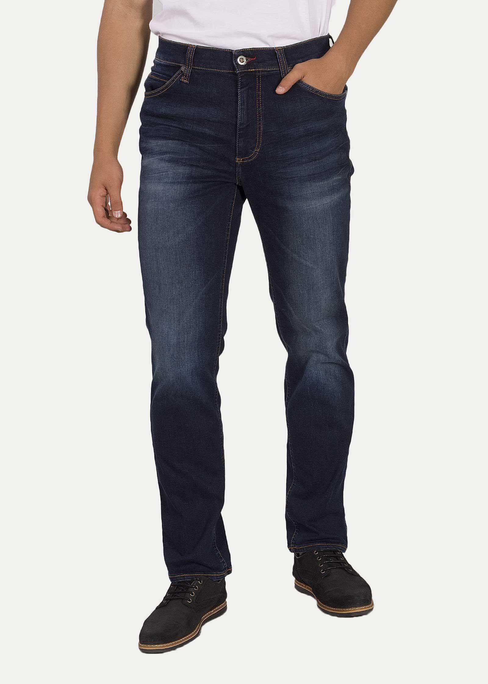 Men's Jeans Mustang® Tramper Tapered - 883 Denim Blue 1004457-5000-883 /  Navy blue