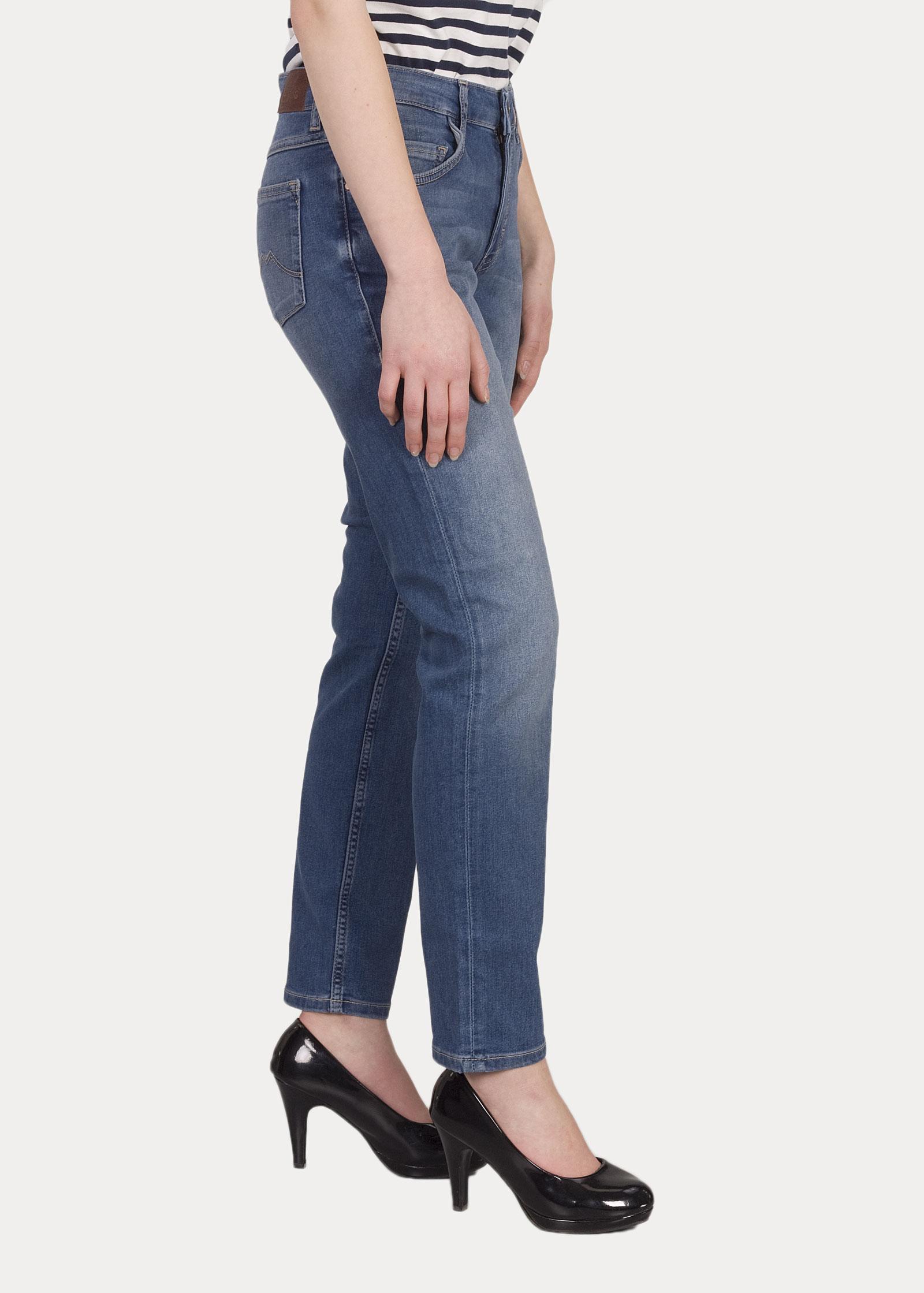 Damen Jeans Mustang Rebecca 312 Denim Blue