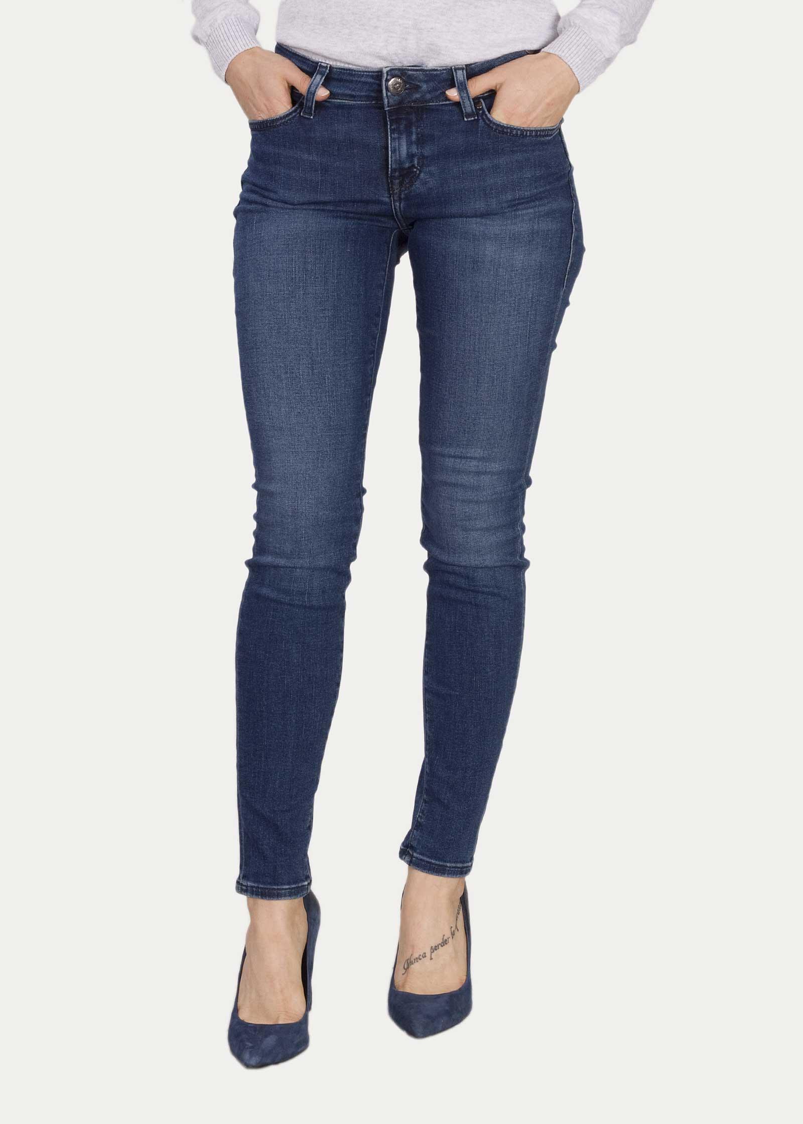 Womans Jeans Mustang Jasmin Jeggins - 502 Medium Middle
