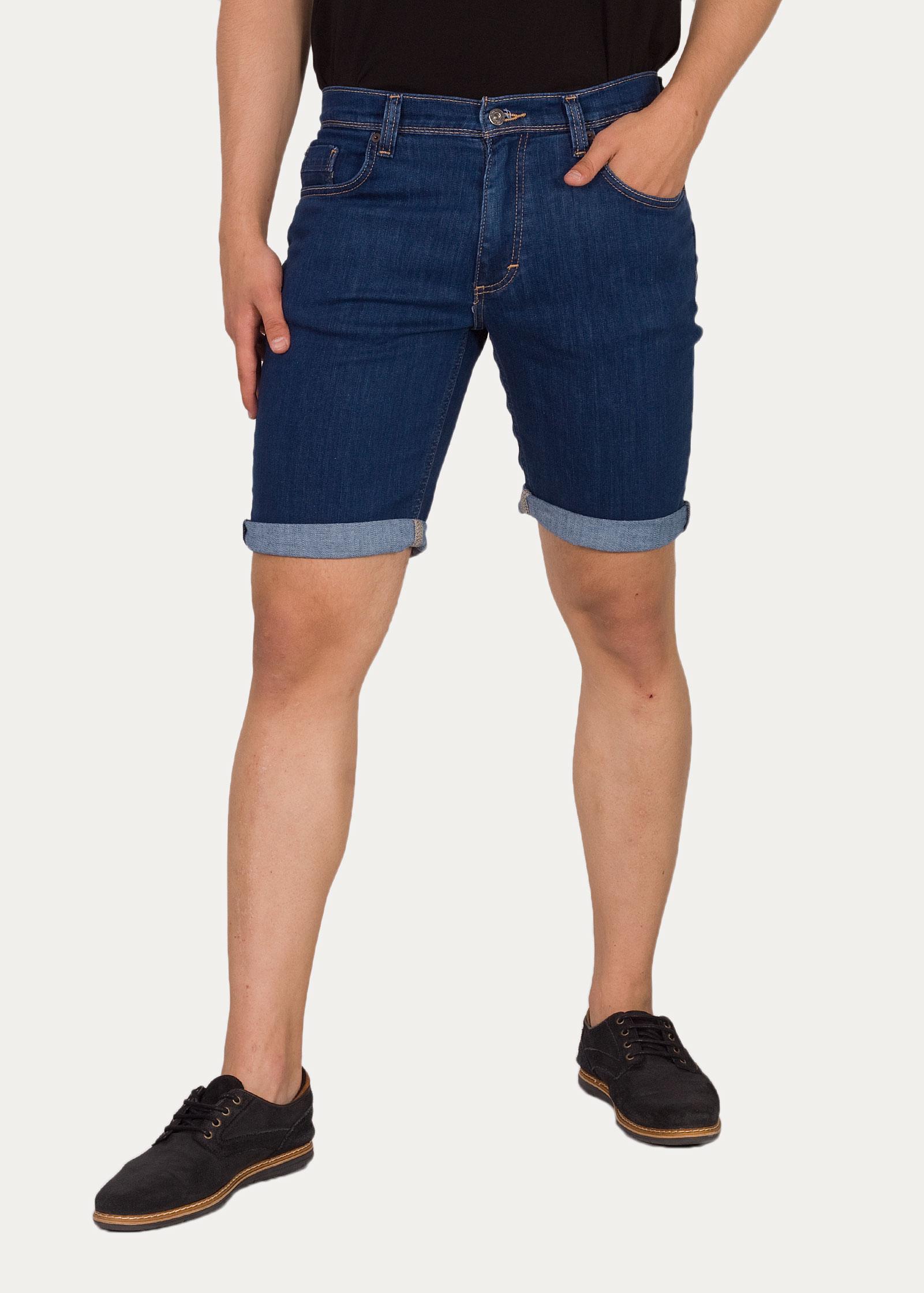 Men's Short Mustang® Washington Shorts - Denim Blue 1009588-5000-410 / Blue