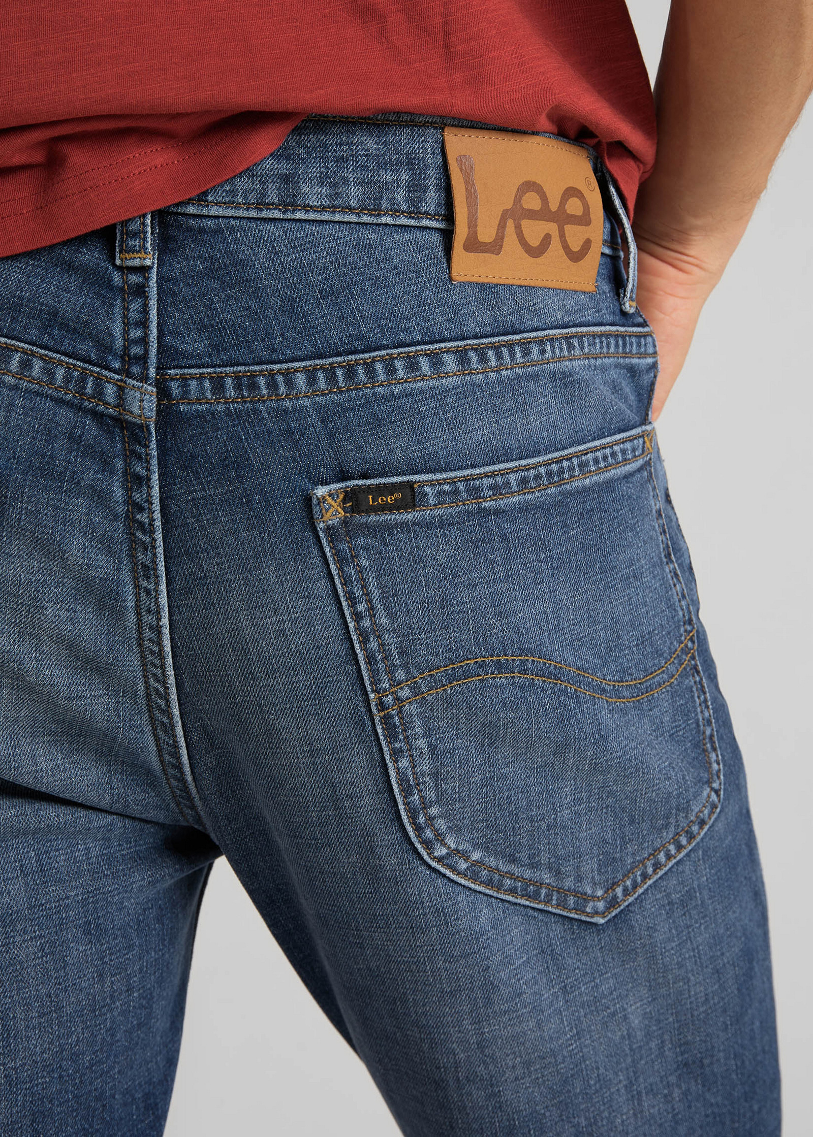 Lee® Rider Cropped - Mid Bold Kansas - elements