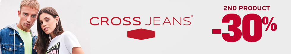 Cross Jeans®  -30% on 2nd product