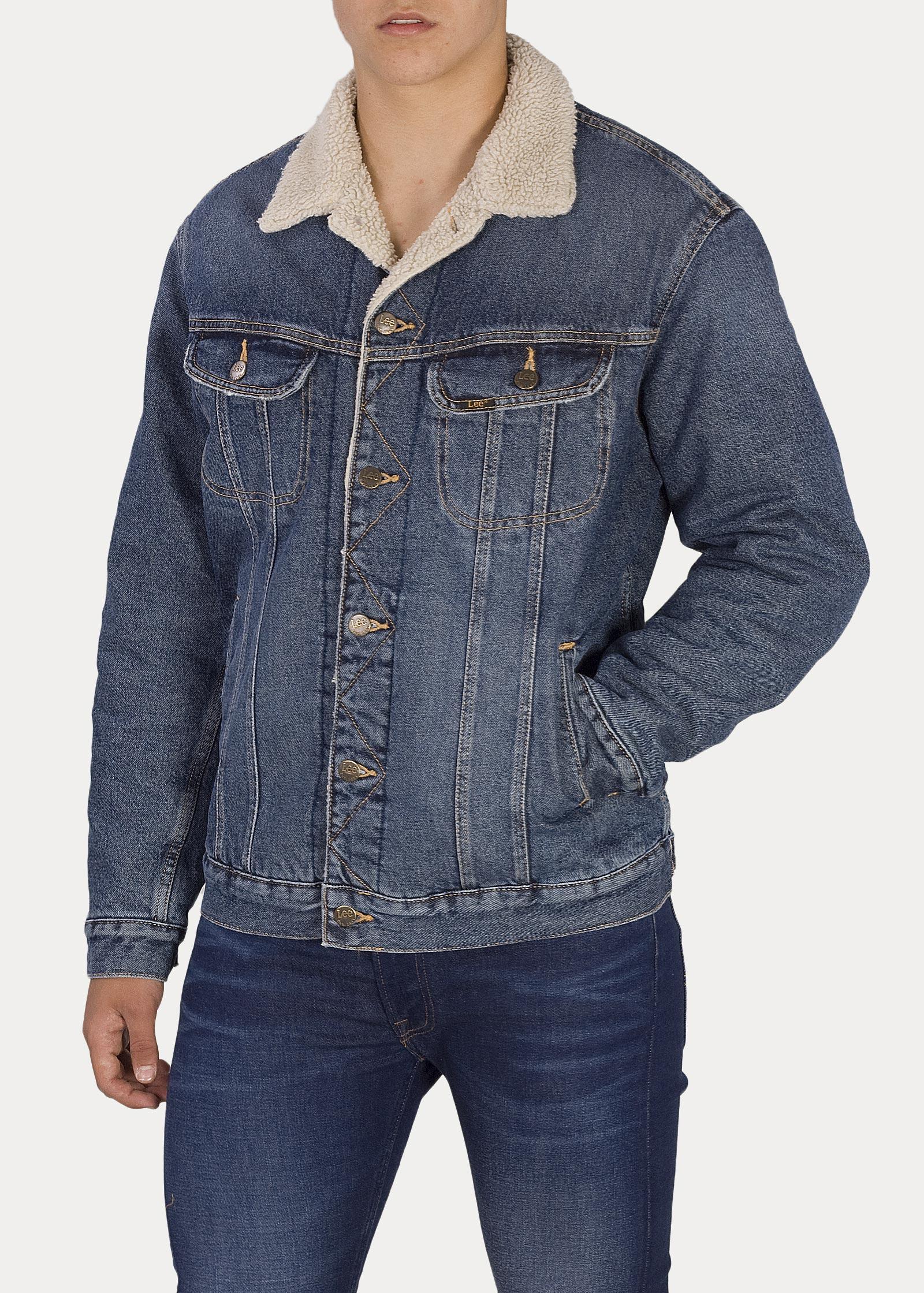 Lee Jacken Vintage Jacket Herren Sherpa Worn lcuKFJ13T5