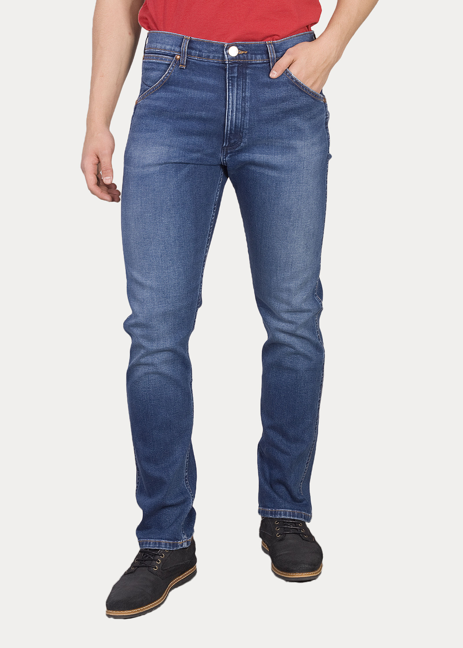 8dbece6a1e4 Men s Jeans Wrangler® Icons 11MWZ Western Slim Jeans - 1 Year ...
