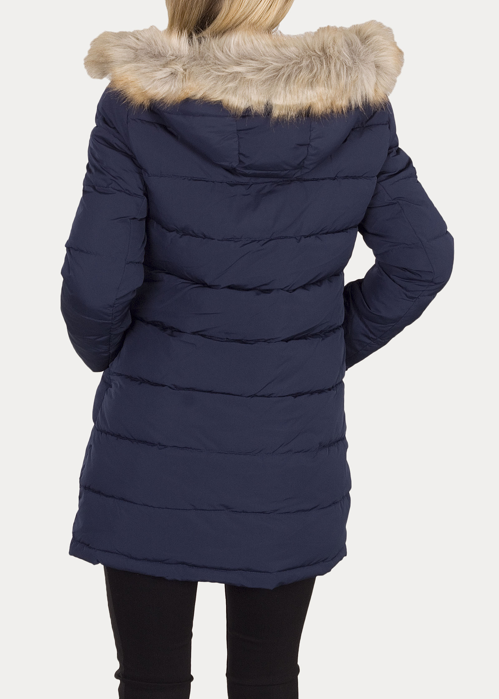 Wrangler® Long Puffer - Navy - elements