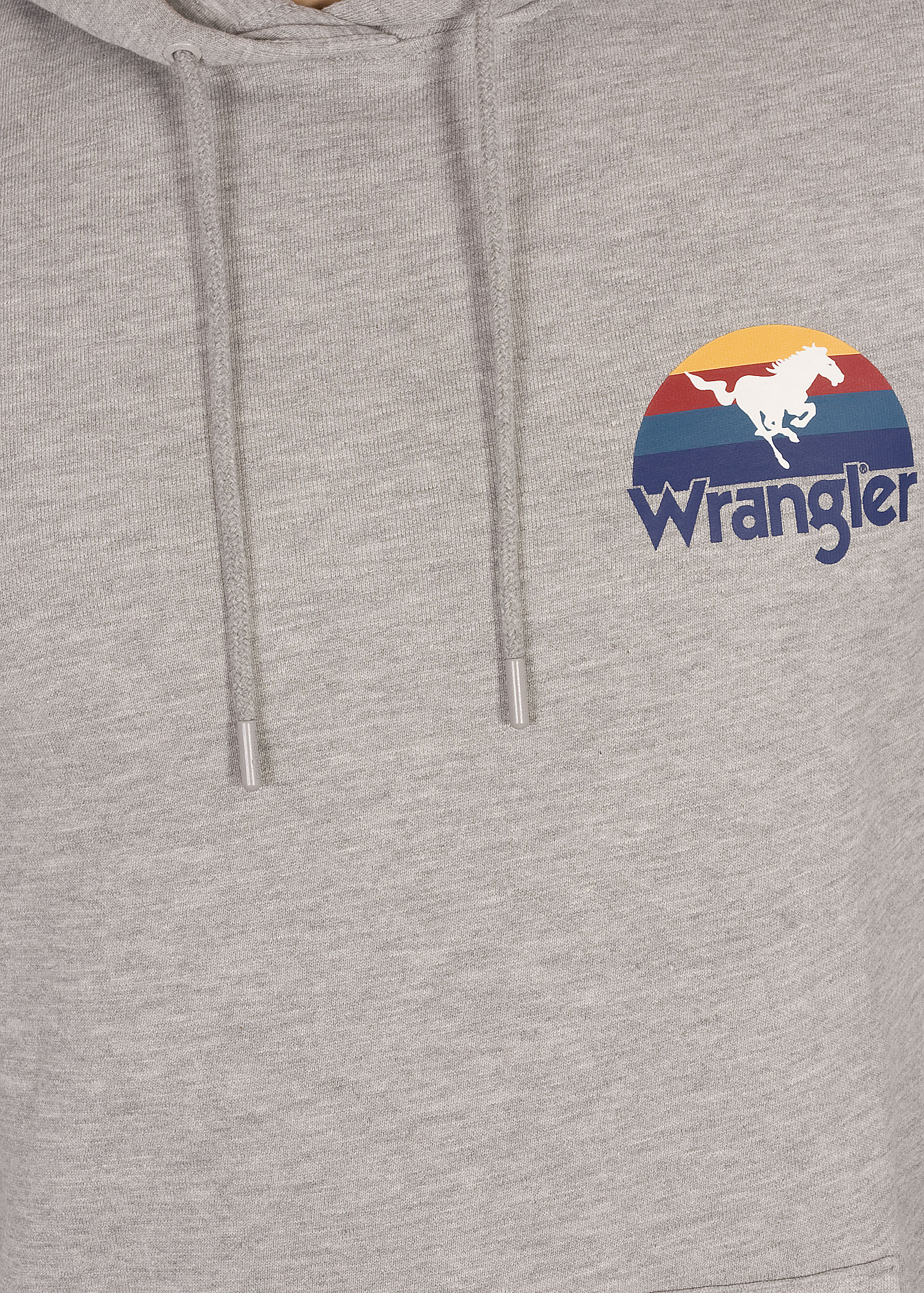 Wrangler® Sunset Hoodie - Mid Grey Mel - elements