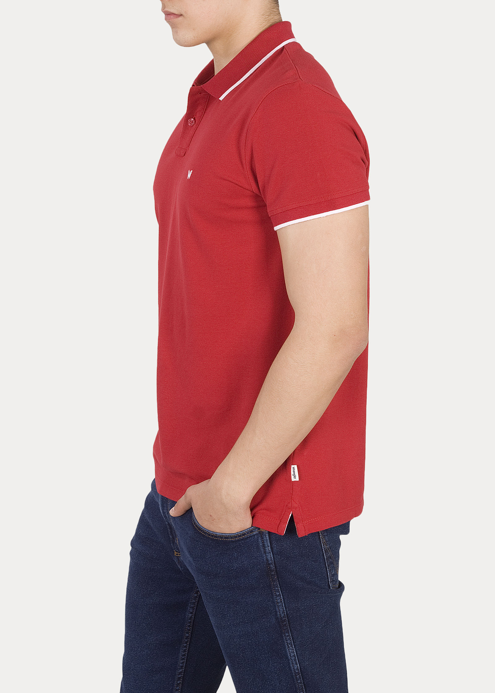 Wrangler® Polo - Scarlet Red - elements