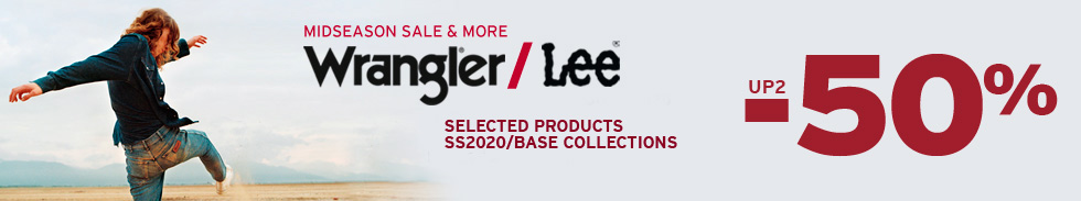 Wrangler/Lee up to -50%