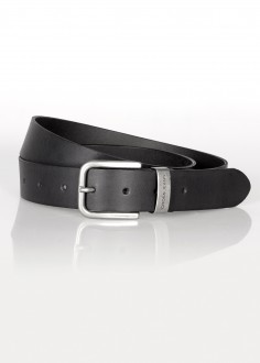 Cross Jeans® Belt Metal Logo - Black (020) (0441K-020)