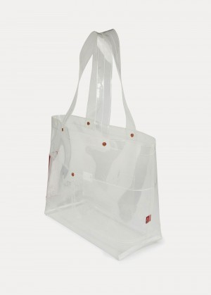 Levi's® Icon Carryall Clear Bag - White