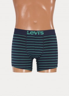 Levi's® 200sf Vintage Stripe Boxer Brief 2 Pack - Navy/green (37149-0043)