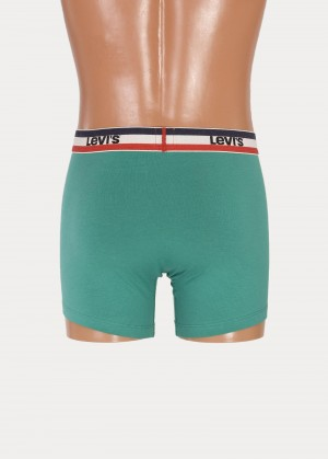 Levi's® 200sf Boxer Brief 2 Pack - Green/black