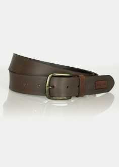 Cross Jeans® Belt Logo - Brown (025) (0442K-025)
