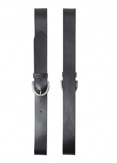 Cross Jeans® Leather Belt - Black (0448K-020)