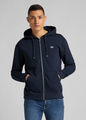 Lee® Basic Zip Throuh Hoody - Navy