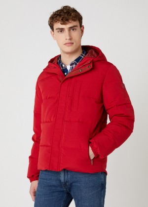 Wrangler® The Bodyguard Jacket - Red