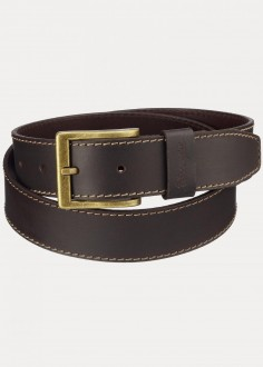 Wrangler® Basic Stitched Belt - Brown (W0081US85)