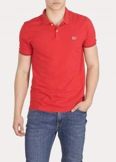 Lee® Pique Polo - Bright Red (L61ARLEF)