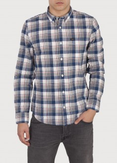 Lee® Button Down - Washed Blue (L880DMLR)