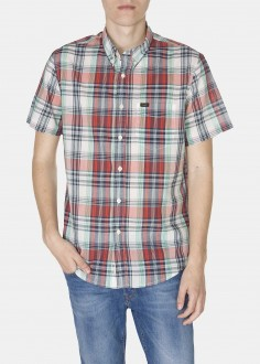 Lee® Button Down Ss - Lava Red (L886ZNAF)