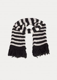 Lee® Stripe Scarf - Black (LV941101)