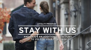 Stay with us - Loyalty Program