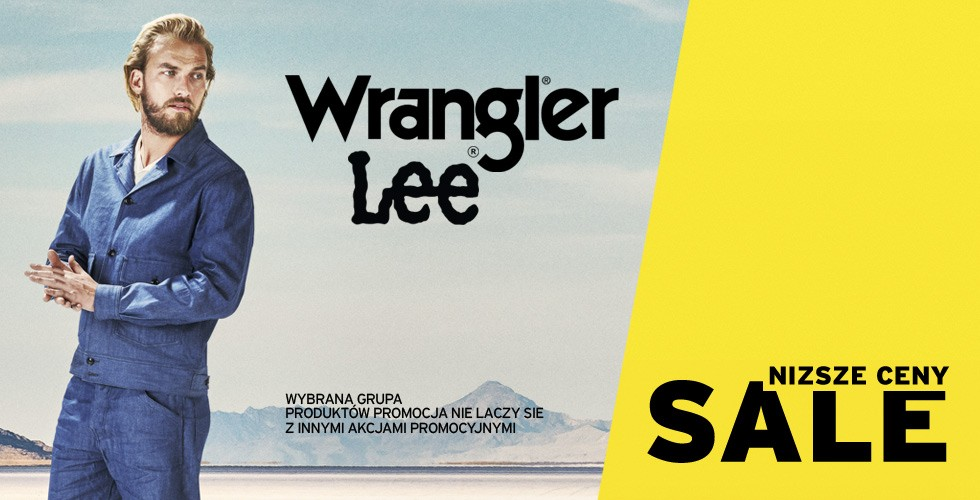 Wrangler®/Lee® Sale up to 50%