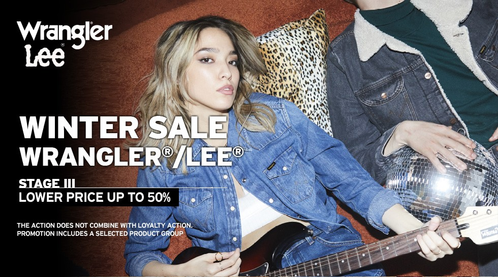 Winter Sale Wrangler®/Lee® w Jeans24h